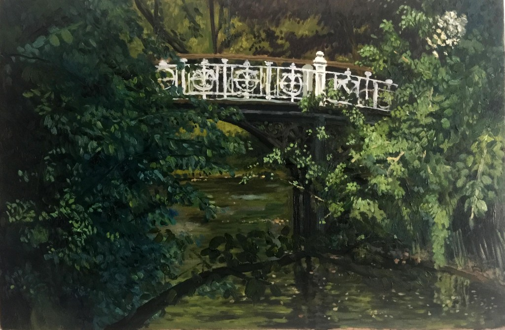 Bridge in the vondelpark